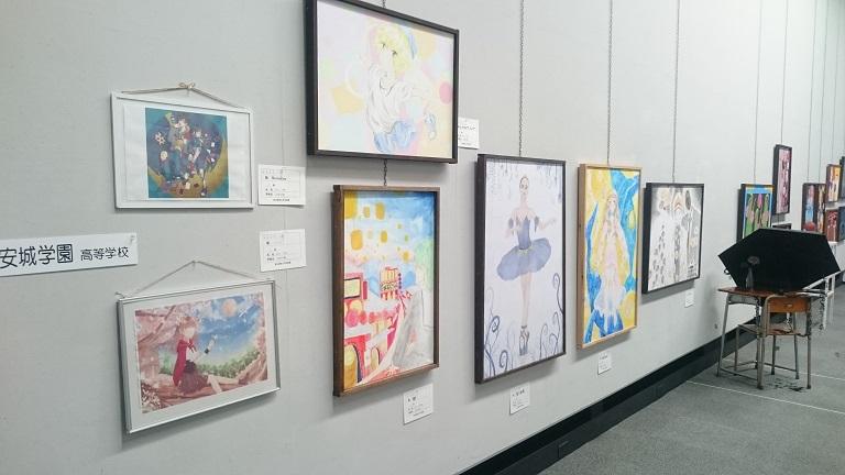 美術部 西三河生徒美術展