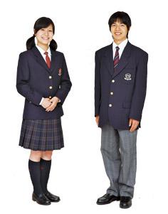 安城学園高等学校制服画像